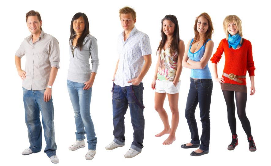 Gratis voor tieners