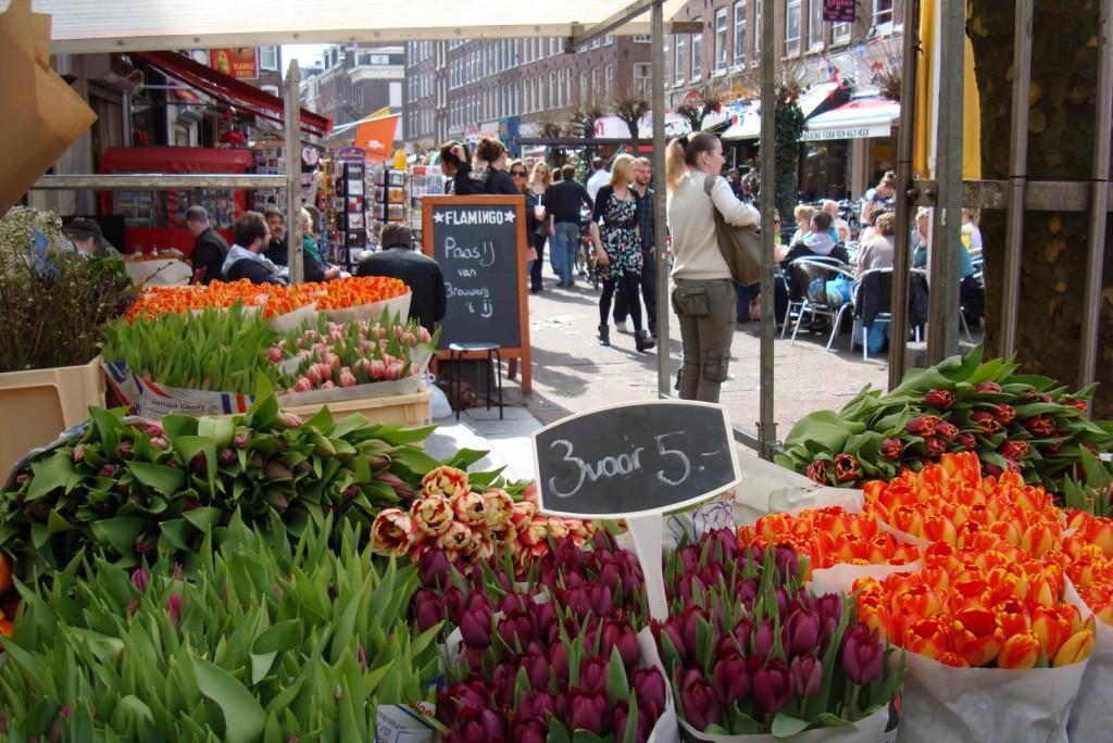 Albert-Cuypmarkt Zondagsmarkt Amsterdam